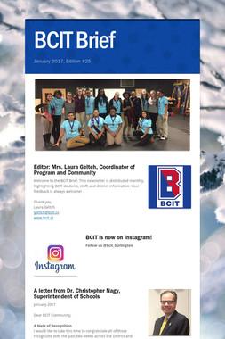BCIT Brief