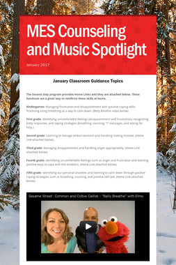 MES Counseling and Music Spotlight