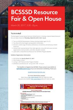BCSSSD Resource Fair & Open House