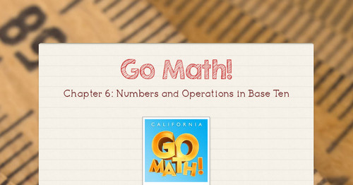 Go Math Grade 4 Lesson 65 Answers Homework