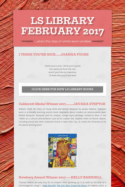 LS LIBRARY FEBRUARY 2017