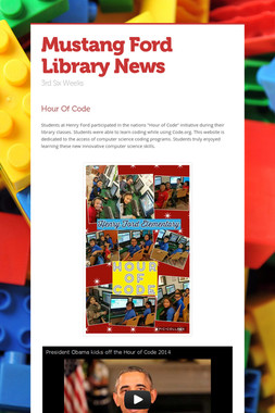 Mustang Ford  Library News