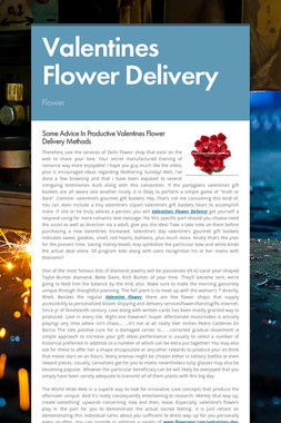 Valentines Flower Delivery
