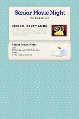 Senior Movie Night