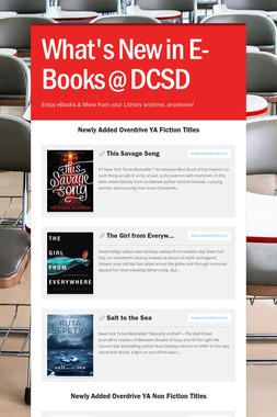 What's New in E-Books @ DCSD