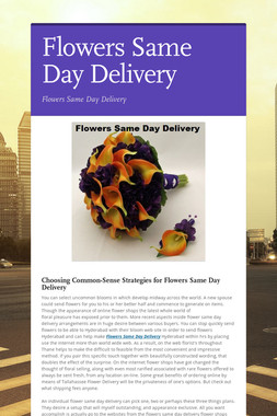 Flowers Same Day Delivery