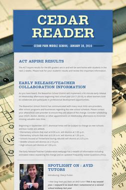 Cedar Reader