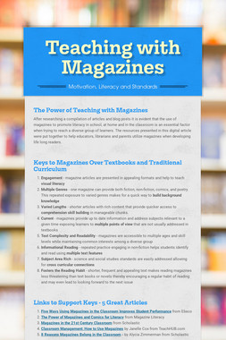 Teaching with Magazines