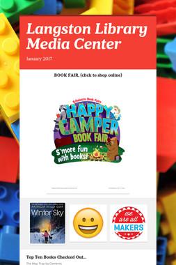 Langston Library Media Center