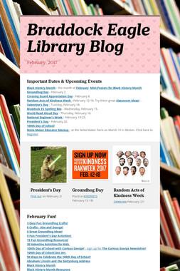 Braddock Eagle Library Blog