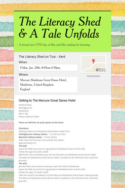 The Literacy Shed & A Tale Unfolds