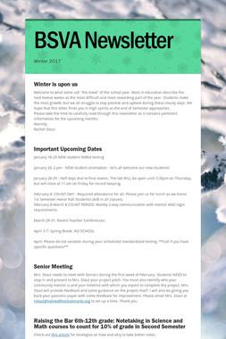 BSVA Newsletter