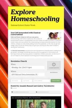 Explore Homeschooling