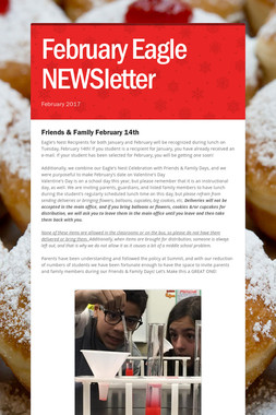February Eagle NEWSletter