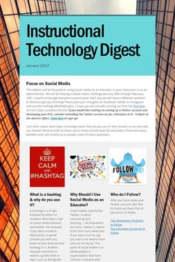 Instructional Technology Digest