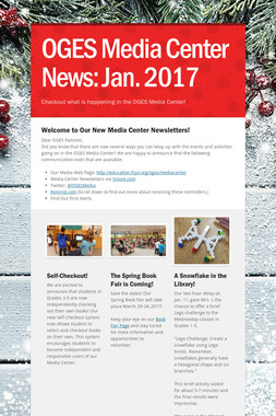 OGES Media Center News: Jan. 2017
