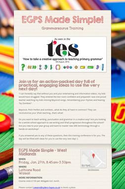 EGPS Made Simple!