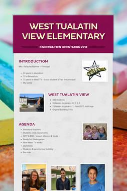 West Tualatin View Elementary