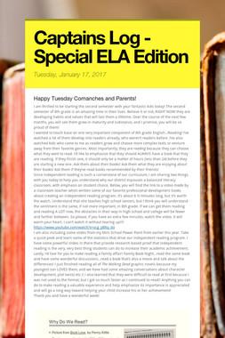 Captains Log - Special  ELA Edition
