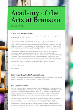 Academy of the Arts at Bransom