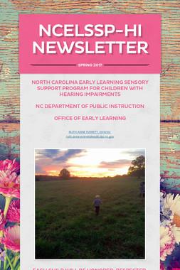 NCELSSP-HI Newsletter