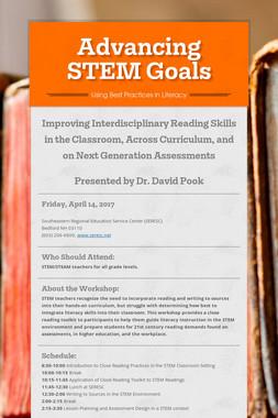 Advancing STEM Goals