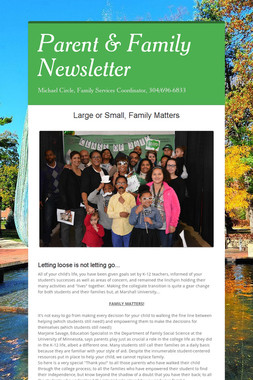 Parent & Family Newsletter