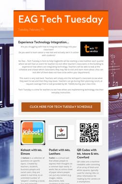 EAG Tech Tuesday