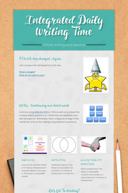 Integrated Daily Writing Time