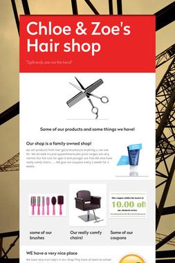 Chloe & Zoe's Hair shop