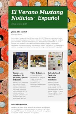 El Verano Mustang Noticias~ Español