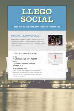LLEGO Social