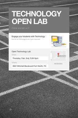 TECHNOLOGY OPEN LAB