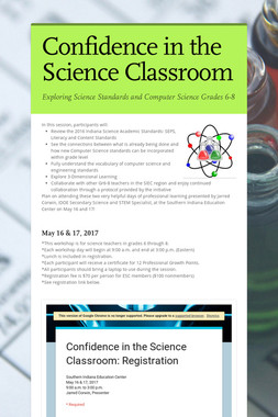 Confidence in the Science Classroom