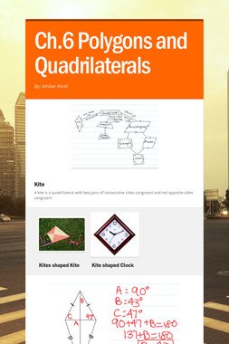 Ch.6 Polygons and Quadrilaterals