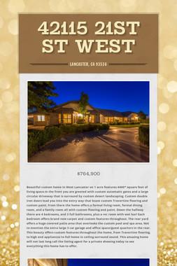 42115 21st St West