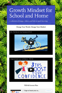 Growth Mindset for School and Home