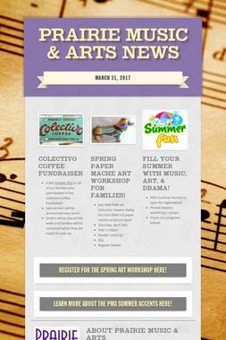 Prairie Music & Arts News
