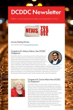 DCDDC Newsletter