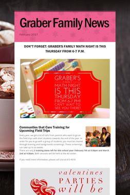 Graber Family News