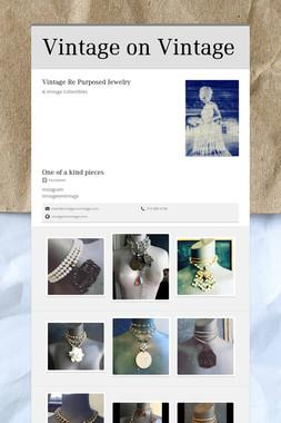 Vintage on Vintage