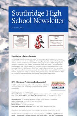 Southridge High School Newsletter