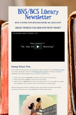 BNS/BCS Library Newsletter