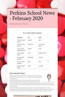 Perkins School News - January 2020