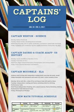Captains' Log