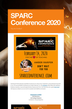 SPARC Conference 2019