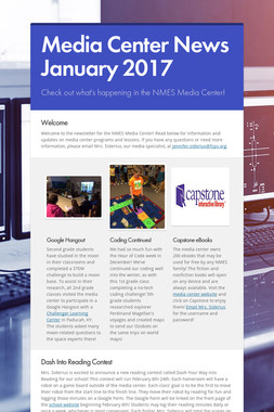 Media Center News January 2017