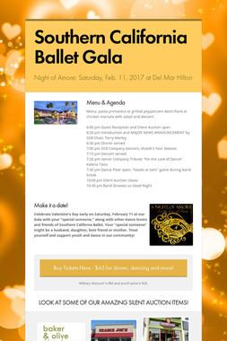 Southern California Ballet Gala