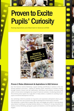Proven to Excite Pupils' Curiosity