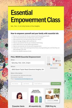 Essential Empowerment Class